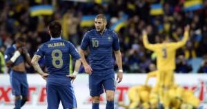 Prancis harus mengejar defisit 2 gol dari Ukraina