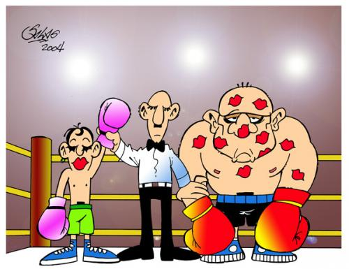 boxing cartoon image (10)