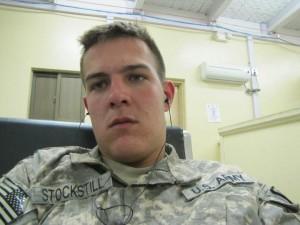 The real man : US Army Michael Stockstill