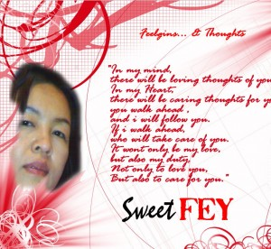 Fey and Poem from my heart