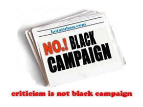black campaign