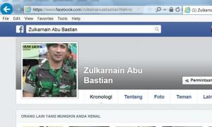 Akun si penipu yang curi photo Abu Bastian